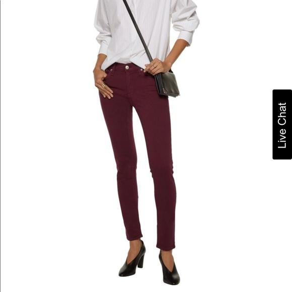 def2e99f1ecc9 Rag and bone skinny jeans (Burgundy). M 5ab697743316275f9389e6d6